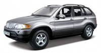 Автомодель Bburago - BMW X5 (ассорти красный, серый металлик, 1:24)