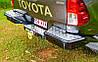 Задний бампер силовой TJM Toyota Hilux 2015+, фото 3