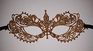 Ажурная, кружевная 3Д маска на лицо. Для карнавалов, вечеринок и фотосессий.