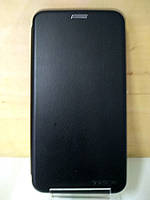 Чехол книжка под кожу черный Huawei P10 (VTR-L29)