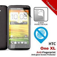 Защитная пленка для HTC ONE XL, глянцевая /накладка/наклейка /штс