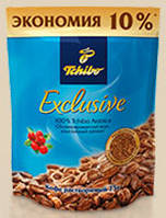 Кофе растворимый Tchibo Exlusive 75г.