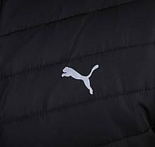 Мужская стеганая зимняя куртка Puma синего цвета топ реплика, фото 3