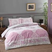 TAC  Aryan pink Семейный комплект постельного белья