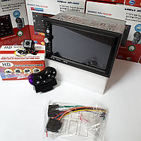"Автомагнитола 2Din Pioneer 7023CRB 7"" Экран, Bluetooth,Пульт на руль+камера заднего вида."