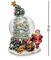 """Снежный шар музыкальный, с подсветкой """"Новогоднее чудо"""" PM-49"""
