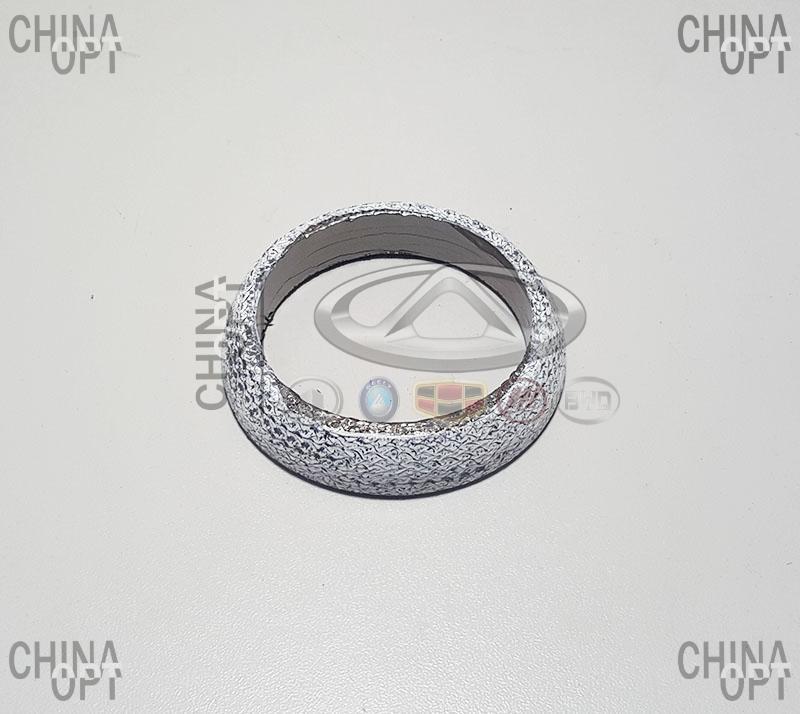 Прокладка приемной трубы, меднографитовое кольцо, Geely EX7[2.0,X7], 1016003030, Aftermarket