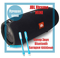 Колонка JBL Xtreme Mini Черная Bluetooth влагозащита, microSD, зарядка телефона, 20W качество