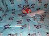 """Детское постельное белье """"Мишки"""" бирюзово-голубые, комплект 9 предметов!"""
