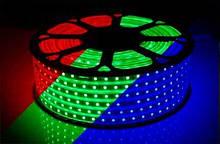 Лента светодиодная 5050-60-IP65-RGB-8-220