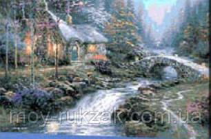 """Картина по номерам """"Лесной дом"""" 40*50см, фото 2"""