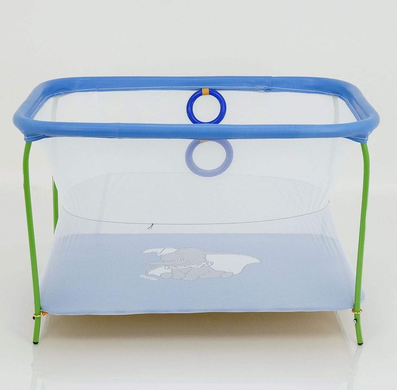 Люкс Манеж Люкс №10 Слоник Blue (49070)