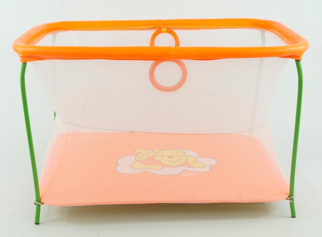 Люкс Манеж Люкс №10 Винни Пух Orange (48078)