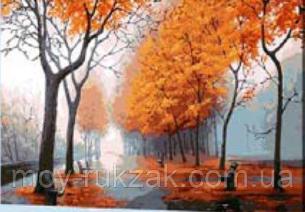 "Картина по номерам ""Осень"" 40*50см"