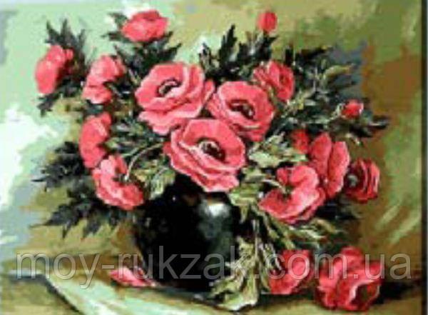 """Картина по номерам """"Букет цветов"""" 40*50см"""
