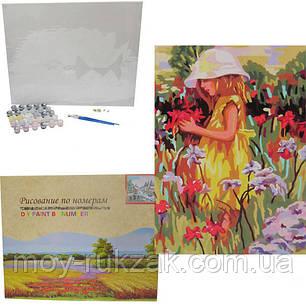 "Картина по номерам ""На цветочной поляне"" 40*50см, фото 2"