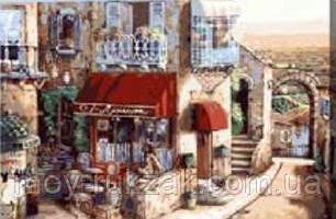 "Картина по номерам ""Кафе в старом городе"" 40*50см, фото 2"