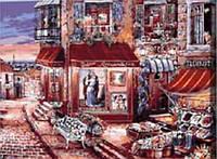 "Картина по номерам ""Базарчик в старом городе"" 40*50см"