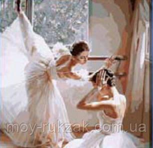 "Картина по номерам ""Балетная школа"" 40*50см, фото 2"