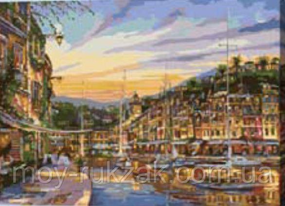 """Картина по номерам """"Закат в Венеции"""" 40*50см"""