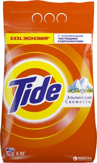 Стиральный порошок TIDE автомат Альпийская свежесть 6 кг