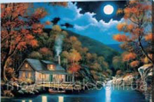 """Картина по номерам """"Ночной пейзаж"""" 40*50см"""