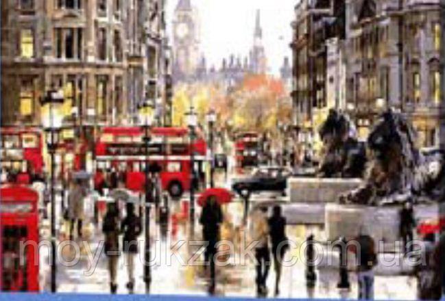 """Картина по номерам """"Улицы Лондона"""" 40*50см"""
