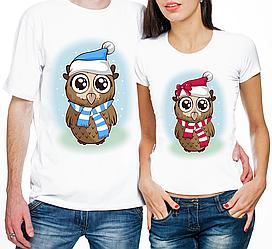 """Парные футболки """"Совушки"""" (частичная, или полная предоплата)"""