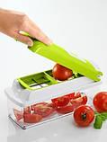 Овощерезка  (аналог Nicer Dicer Plus) - кухонный измельчитель, фото 3