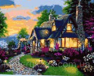 "Картина по номерам ""Домик в деревне"" 40*50см, фото 2"