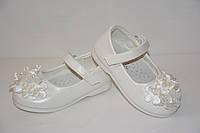 Туфли белые ТМ Солнце для девочки, 24 р. (15 см)
