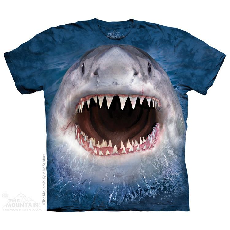 Детская футболка THE MOUNTAIN - Wicked Nasty Shark