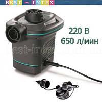 Intex 66640 (220 Вольт) Мощный электрический насос Quick Fill (аналог 66620)