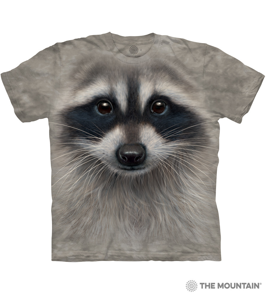 Дитяча футболка THE MOUNTAIN - Raccoon Face