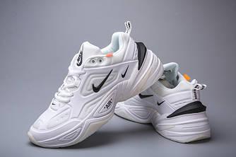 Кроссовки мужские Nike Air Monarch M2K Tekno White Black Белые