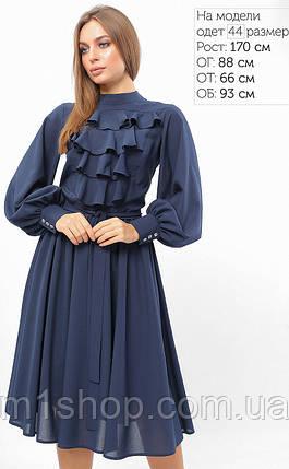 Женское платье с жабо на груди (3305 lp), фото 2
