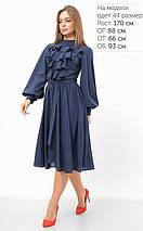 Женское платье с жабо на груди (3305 lp), фото 3