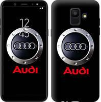 "Чехол на Samsung Galaxy A6 2018 Audi. Logo v2 ""3105c-1480-16132"""