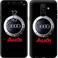 "Чехол на Samsung Galaxy A6 Plus 2018 Audi. Logo v2 ""3105c-1495-16132"""