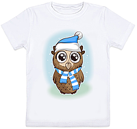 Детская футболка Совушка (для мальчика)
