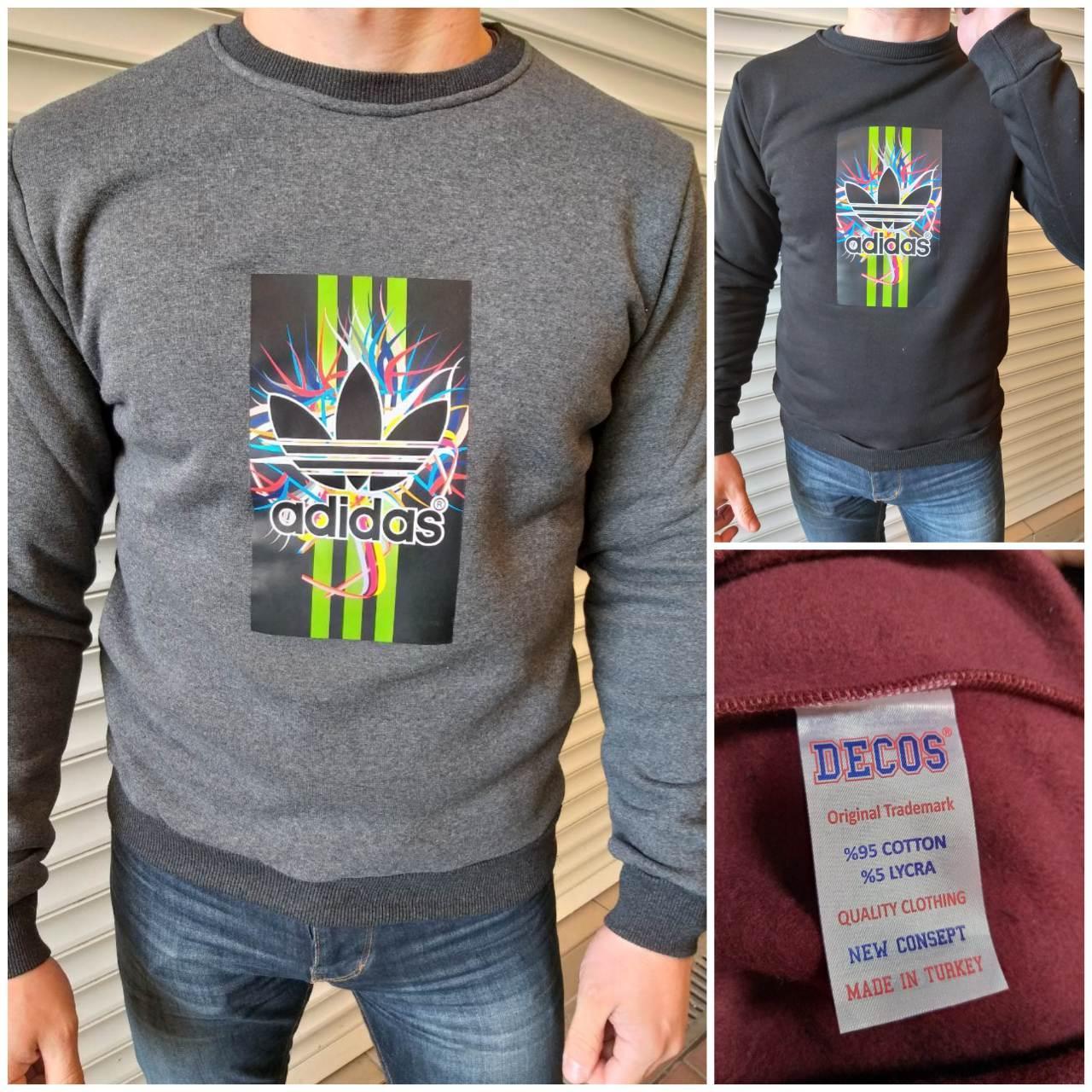sale retailer 916ae 3521a Зимние мужские батники на флисе Adidas в ассортименте Турция