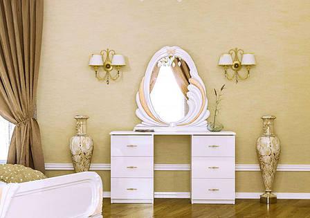 Туалетный столик Лола 6 ящ. МироМарк, фото 2