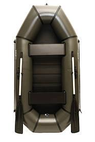 Надувная резиновая лодка Grif boat GL-240LS для рыбалки и охоты на воде 220609, КОД: 110884