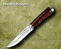 Нож охотничий. Рукоять - березовый кап
