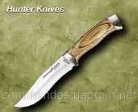 Нож охотничий. Рукоять - берёза.