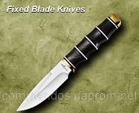 Нож охотничий. Рукоять - дерево.
