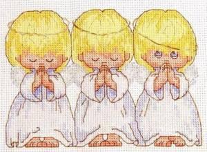 Набор для вышивания крестом NKF Почти идеальный 14ст R569/2