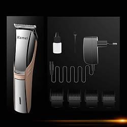 Машинка для стрижки волос водонепроницаемая Kemei KM-5018