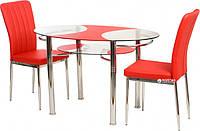 Стол обеденный VTR- T-211 красный