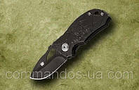 Шпионский маленький нож длина Spyderco 13 см. Спайдерко